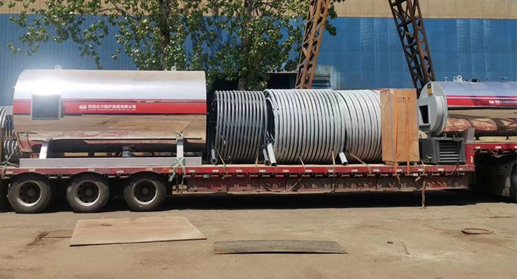 Gas Oil Heater, Gas Oil Fired Thermic Fluid Heater - Free Coil