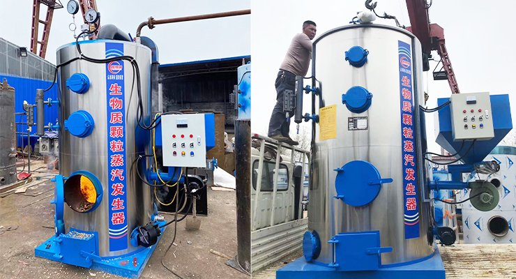 Small Steam Boiler Manufacturer - All Auxiliary Included