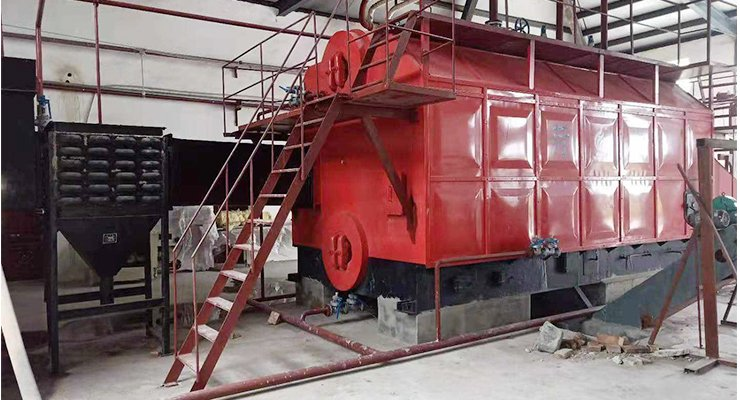 Wood Fired Steam Boiler, Automated Wood Chip Steam Boiler