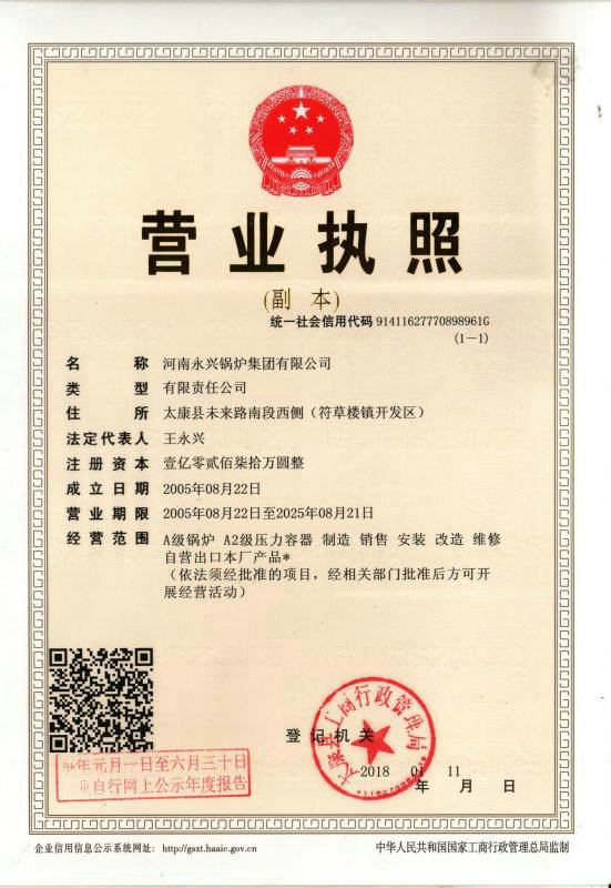 buissness license