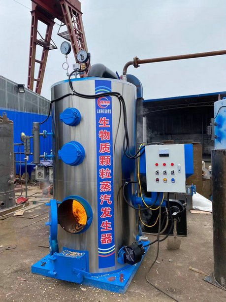 Vertical small steam boiler