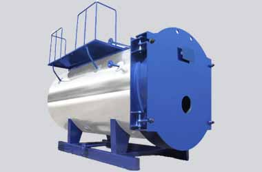 WNS8-1-YQ Industrial Gas Boilers Prices Equipped Horizontal Internal Combustion Type