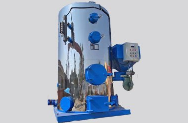 LHG 1 TPH Vertical Water Tubes Biomass Steam Generator