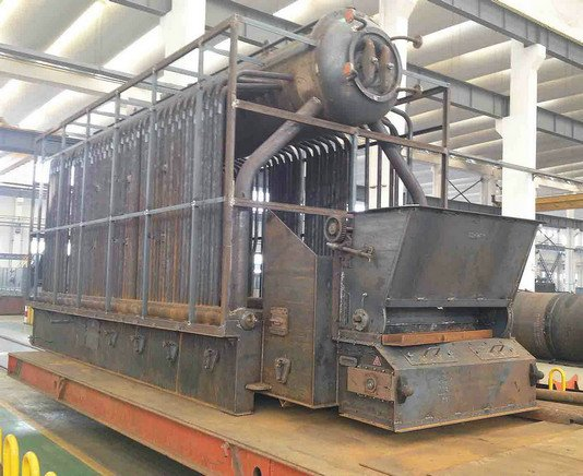DZL Automated Chain Grate Stoker Biomass Steam boiler