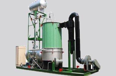 Vertical industrial oil heaters