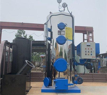 0.5t h vertical small biomass boiler wood pellet industrial steam generator for bulgaria