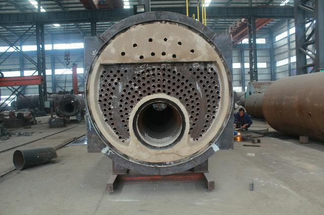 3ton Fire Tube 3 Pass WNS Industrial Gas or Oil Fired Boiler