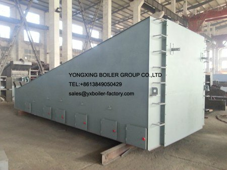 400t d Leaning reciprocating grate Municipal solid waste incineration boiler