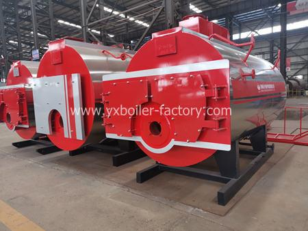 WNS diesel oil gas fired boiler industrial boiler for food factory textile chemical