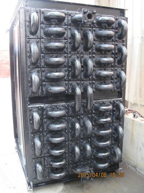 steam boiler economizer and finned tube picture
