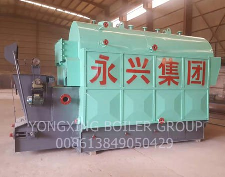 1T DZH DZL Fire Tube Chain Grate Biomass, Wood Pellet Steam Boiler to Replace the Coal Fired Steam Boiler