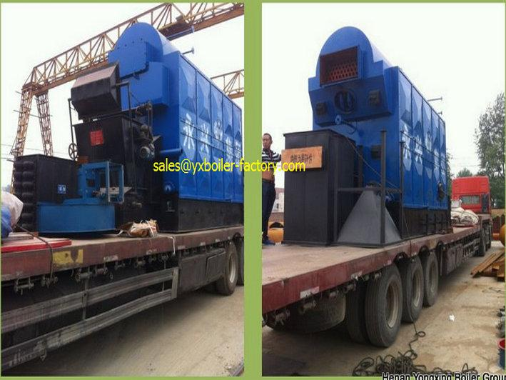 2ton DZL Travelling Grate Automatic Feeding Coal Fired Steam Boiler For Paper mill