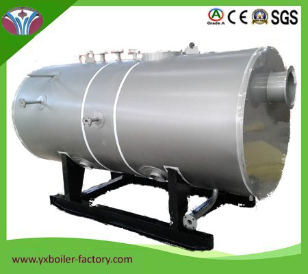 ton Fire Tube 3 Pass WNS Industrial Gas or Oil Fired Boiler