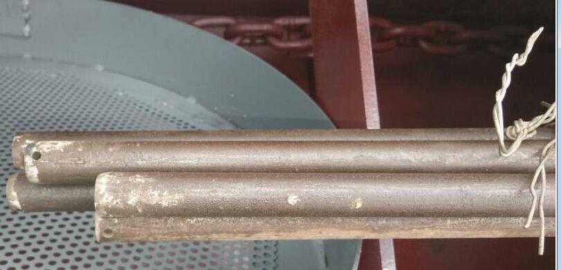 Boiler grate long bin