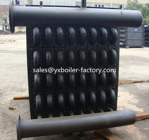 Length1500mm finned tube 80pcs tubes 10TH boiler economizer heating area 174.4m2