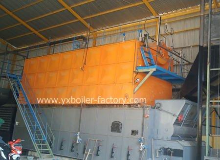 SZL10-1.25-SCI Wood Pellet Boiler Manufacturers For Plywood Industry