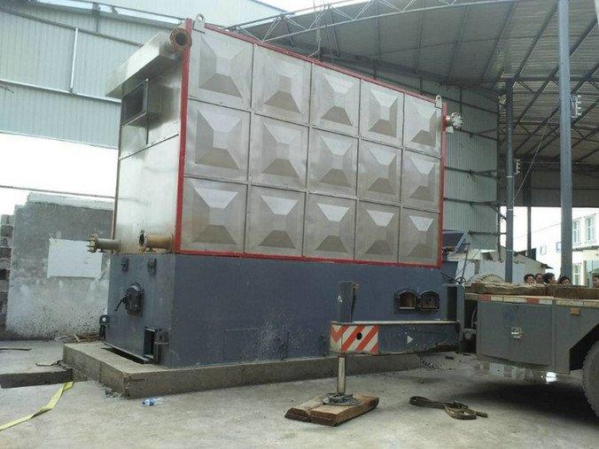 horizontal industrial oil heater