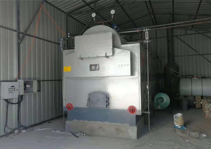 dzh steam boiler with big door