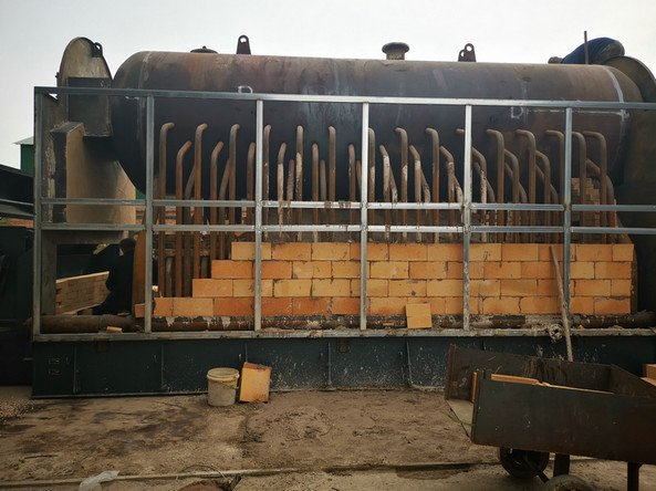 wood fired hot water boiler