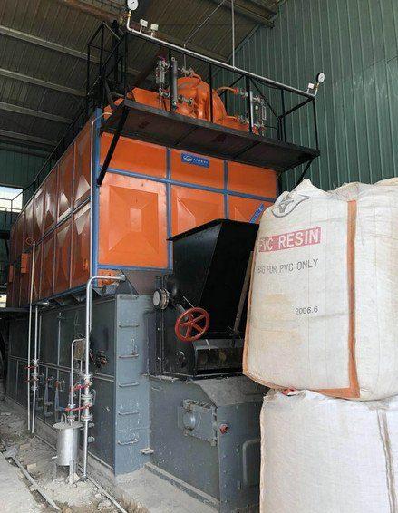 Industrial biomass boiler (1)