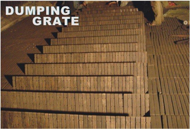dumping grate