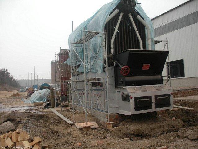 SZL travelling grate stoker industrial biomass boiler