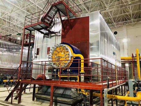 SZS oil gas condensing steam boiler