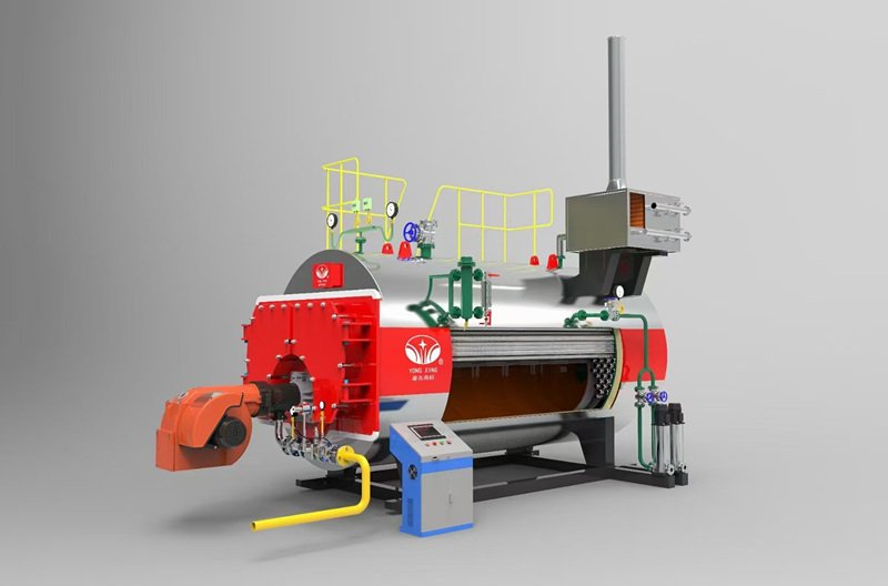fire tube boiler in direct heating