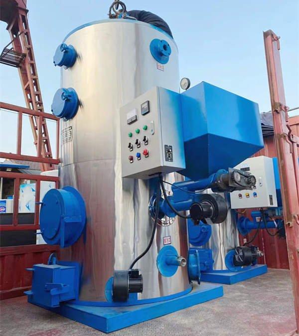 vertical fire tube boiler