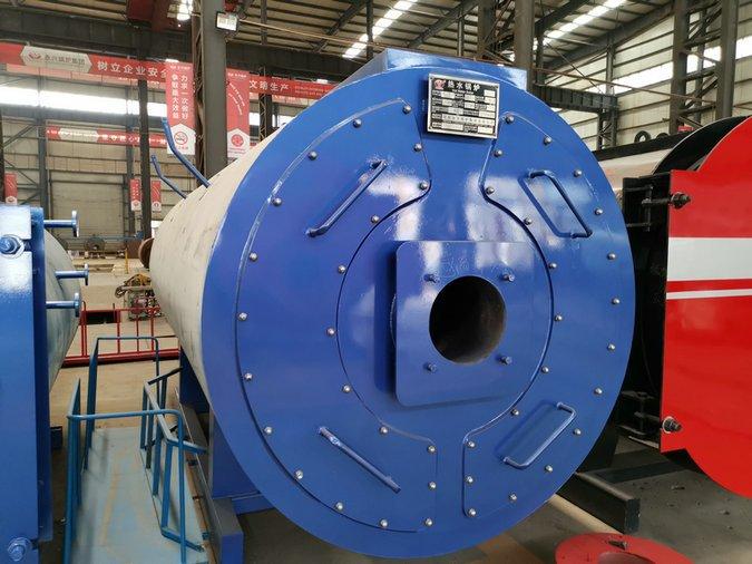 Hot water boiler oil heaters