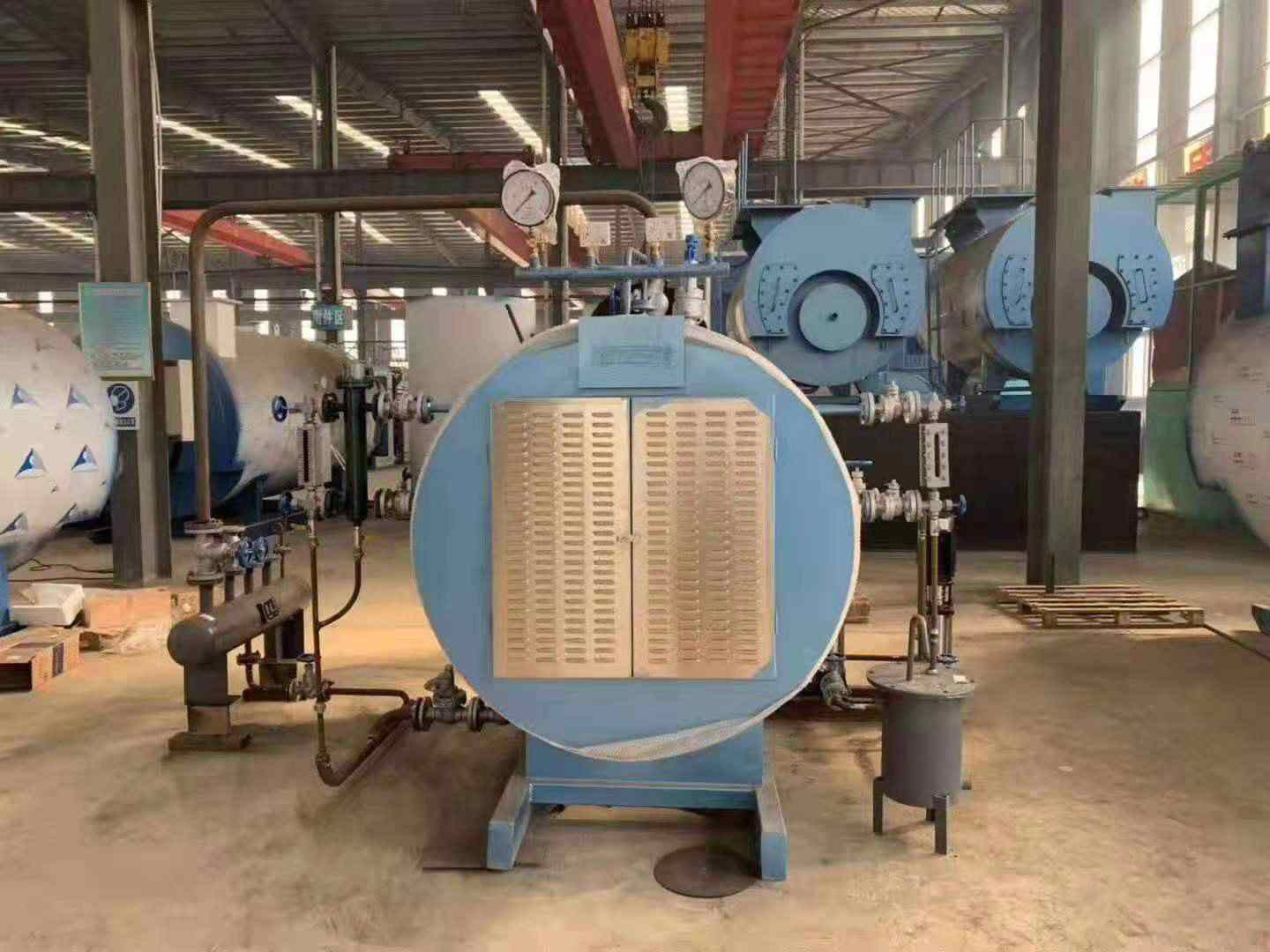 electric steam boiler system