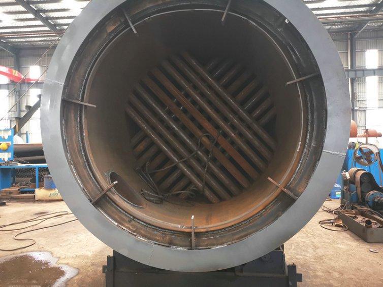 vertical cross tube boiler