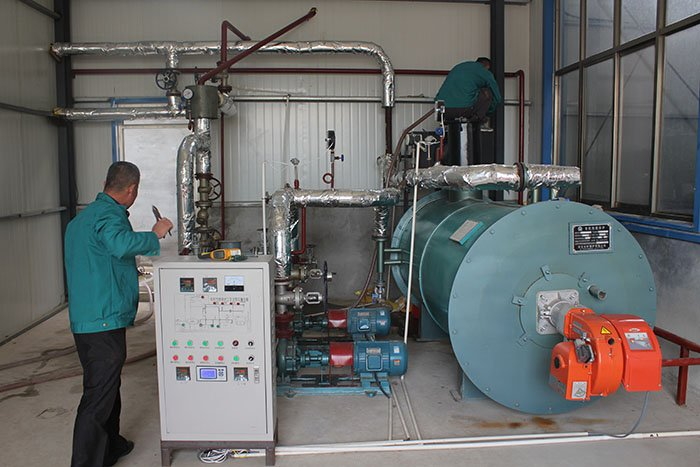 thermal oil heater systems